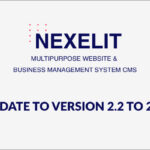 Nexelit – Multipurpose Website Update to v2.2 to v2.3